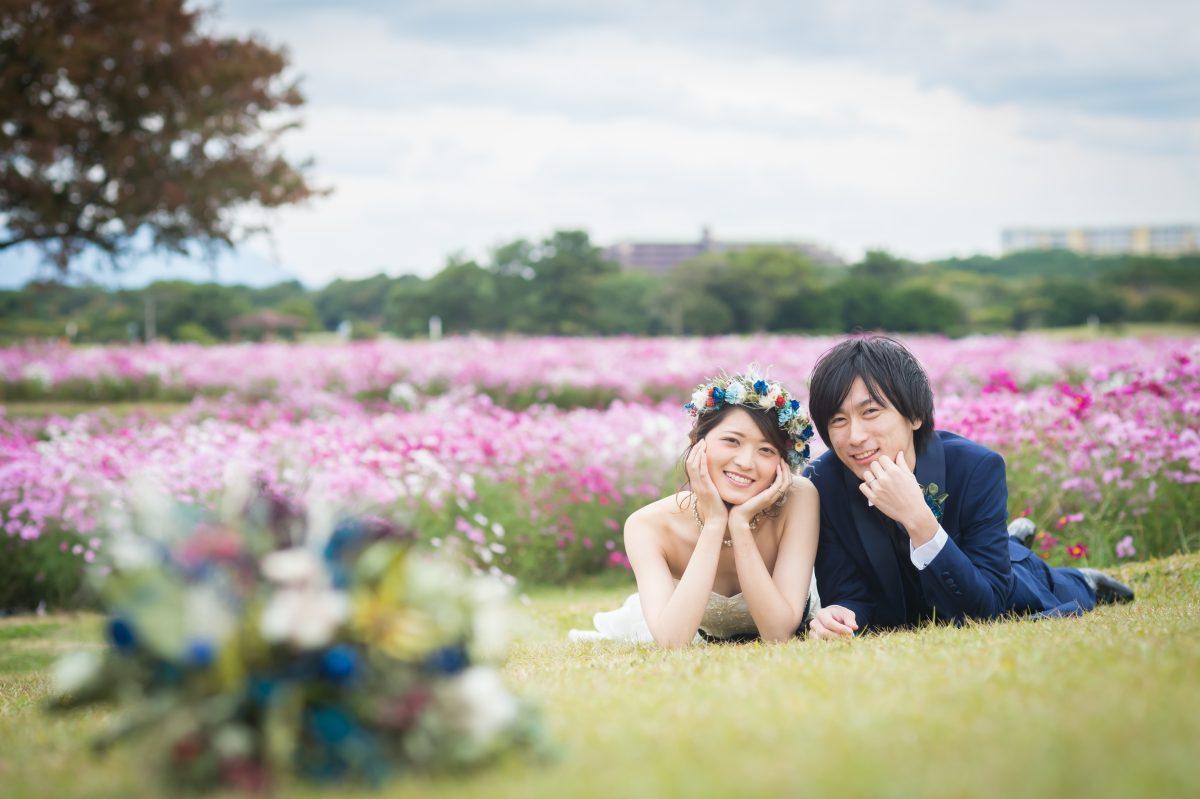 ~海ノ中道海浜公園~ロケーションフォトウエディング||福岡・九州で和装の神社結婚式・和婚ならウェディングセレクト!和婚