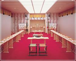 アークホテルロイヤル福岡天神 神殿|住吉神社・護国神社など神社結婚式に人気の神社|福岡・九州で和装の神社結婚式・和婚ならウェディングセレクト!和婚