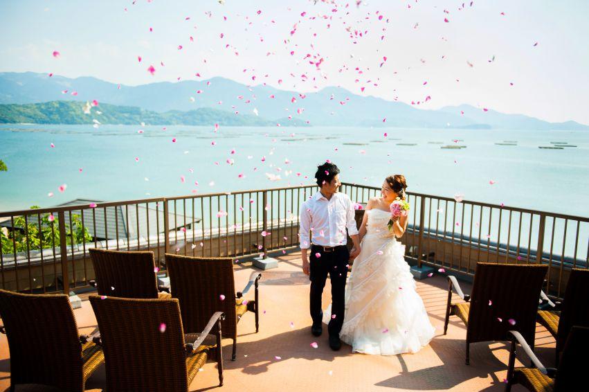 僧伽小野【Ocean view chapel】|ホテルやチャペルなど結婚式に人気の挙式会場|福岡・九州で1.5次会・会費制パーティならウェディングセレクト!1.5次会