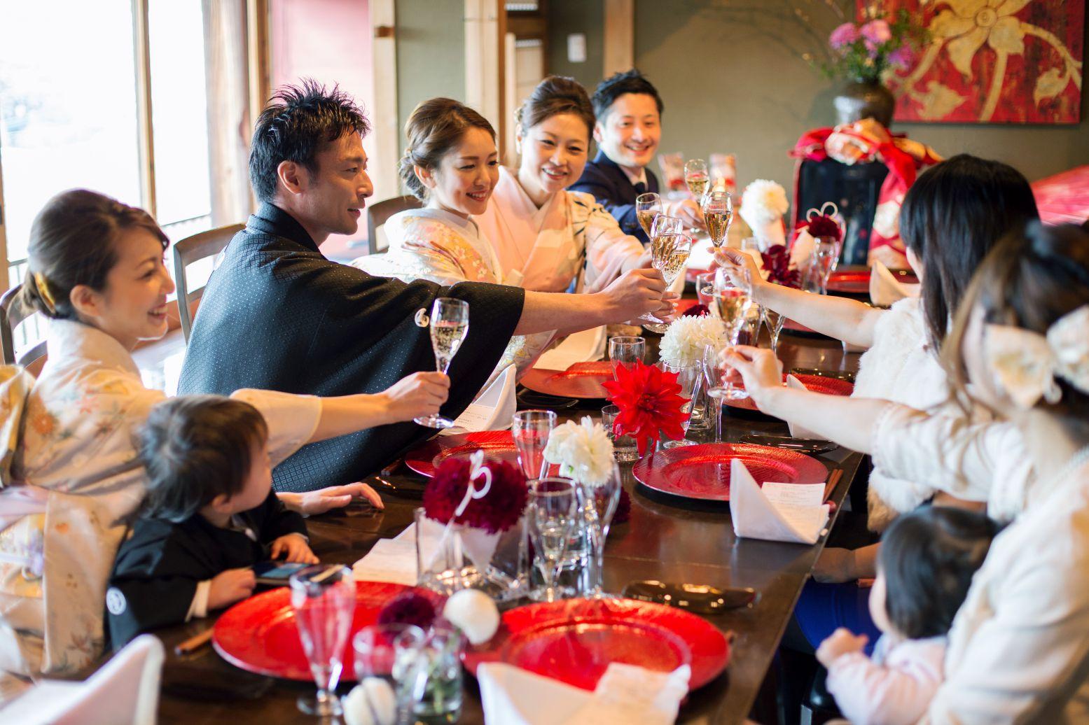 お食事会プラン|神社結婚式・和婚の5万円の定額制格安プラン・お得なキャンペーン|福岡・九州で和装の神社結婚式・和婚ならウェディングセレクト!和婚