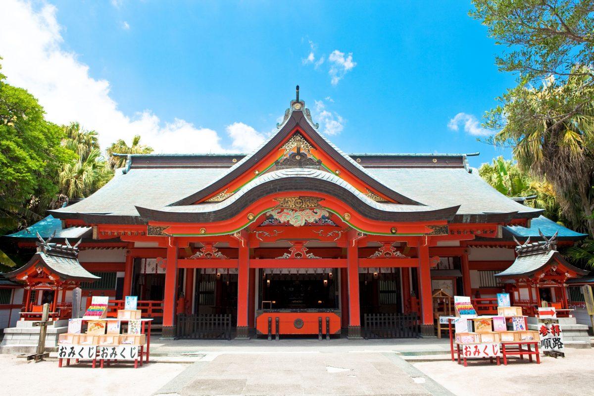青島神社|住吉神社・護国神社など神社結婚式に人気の神社|福岡・九州で和装の神社結婚式・和婚ならウェディングセレクト!和婚