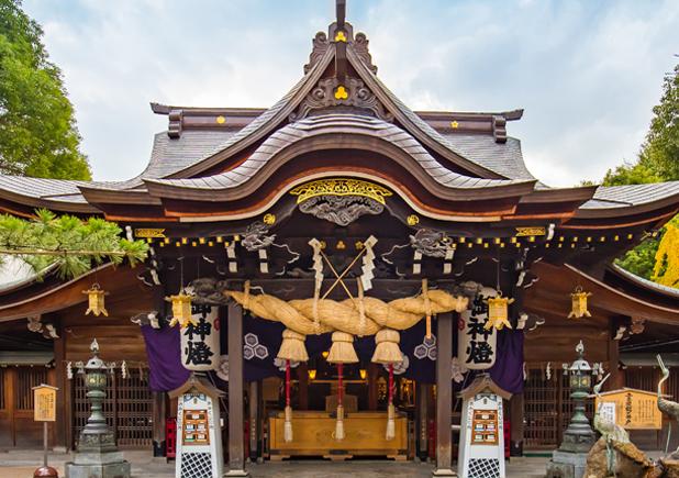 櫛田神社|住吉神社・護国神社など神社結婚式に人気の神社|福岡・九州で和装の神社結婚式・和婚ならウェディングセレクト!和婚