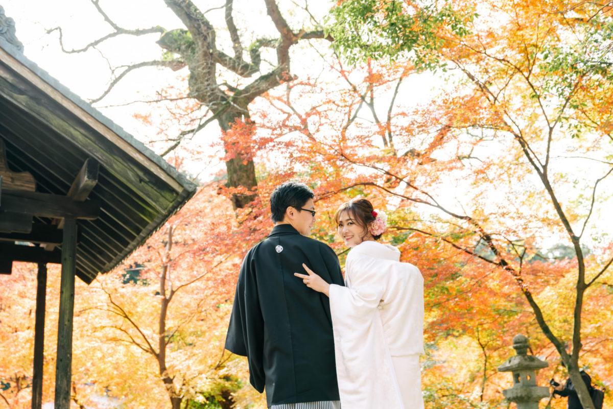 秋月城跡|フォトウェディング・前撮りに人気のロケーションスポット|福岡・九州でフォトウェディング・前撮りならウェディングセレクト!フォトウェディング
