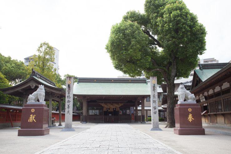 十日恵比須神社|住吉神社・護国神社など神社結婚式に人気の神社|福岡・九州で和装の神社結婚式・和婚ならウェディングセレクト!和婚