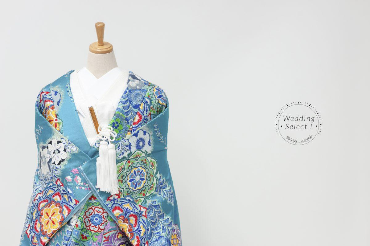 辻が花に正倉院華紋008