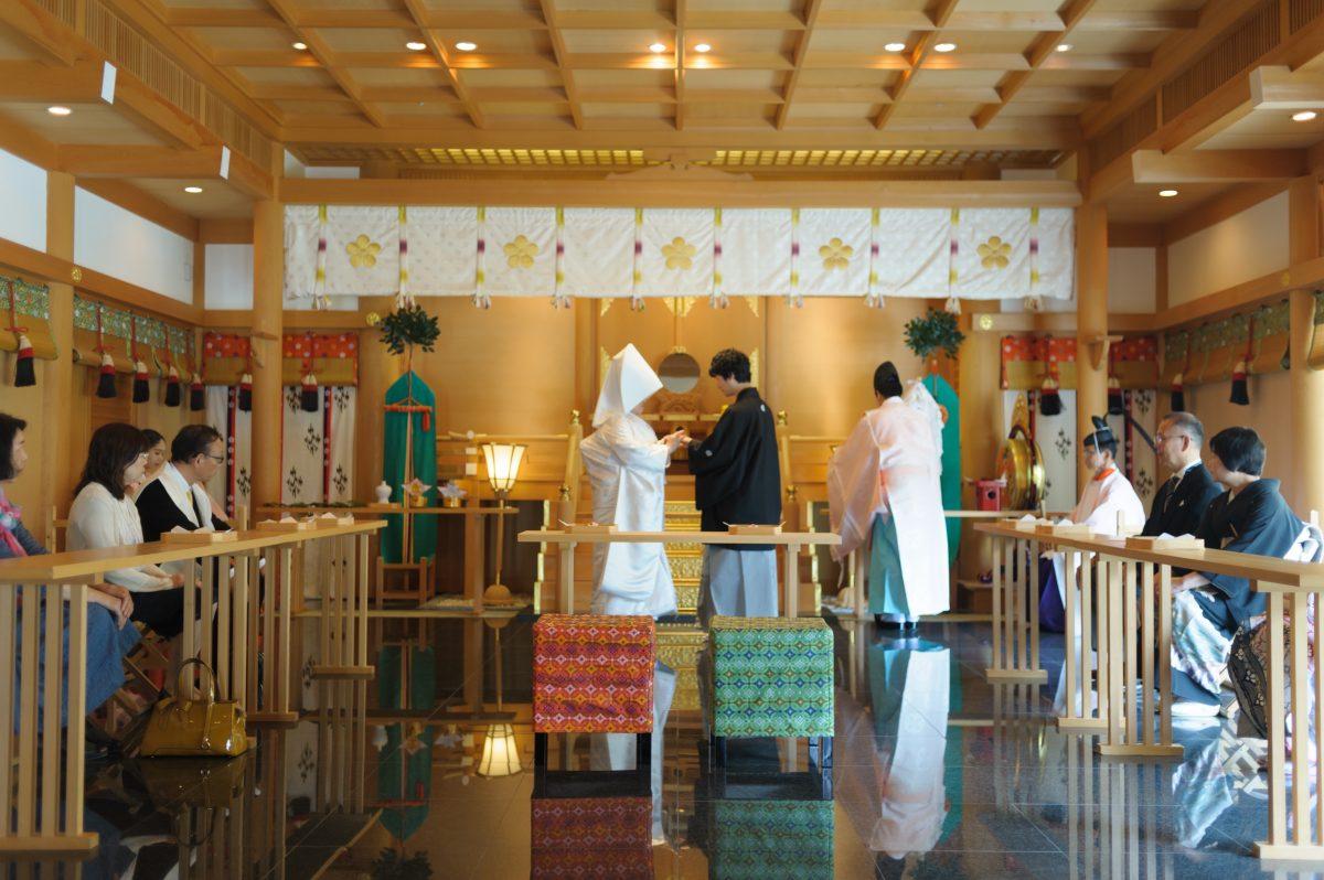 〜太宰府天満宮〜神前結婚式||福岡・九州で和装の神社結婚式・和婚ならウェディングセレクト!和婚