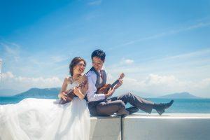 志賀島|フォトウェディング・前撮りに人気のロケーションスポット|福岡・九州でフォトウェディング・前撮りならウェディングセレクト!フォトウェディング