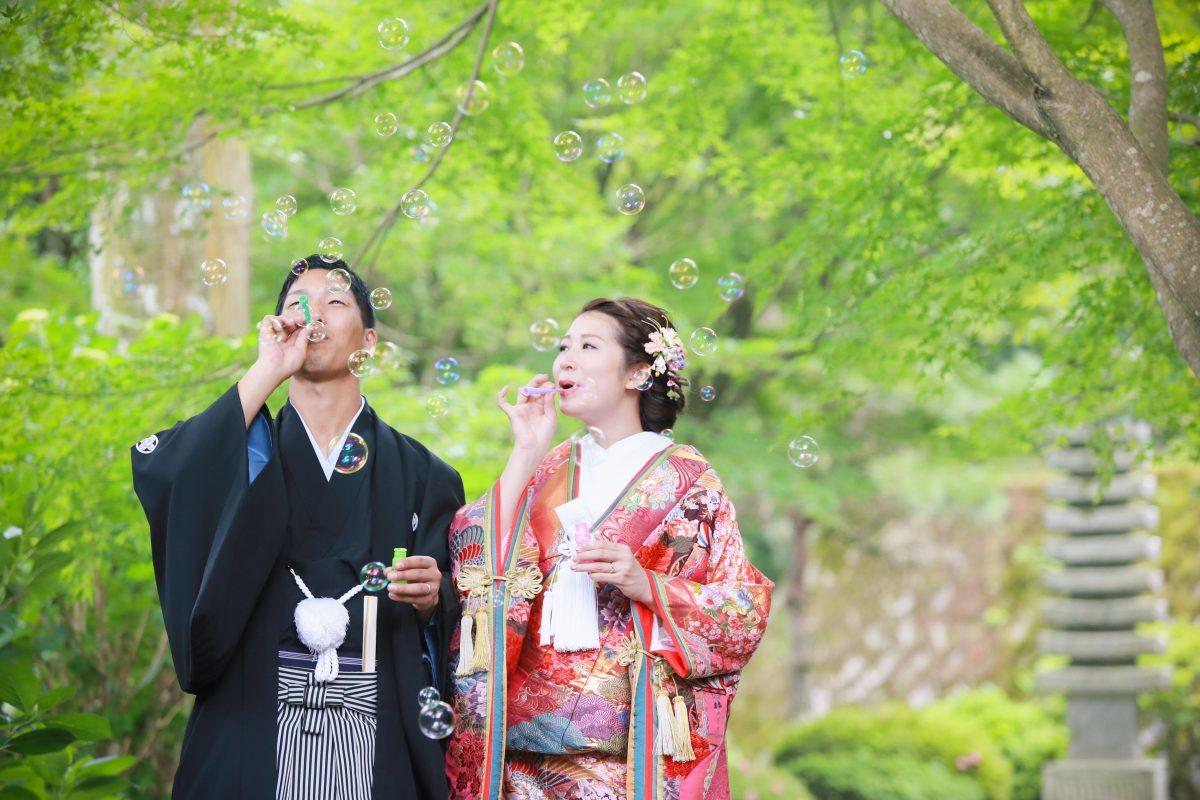 雷山千如寺|フォトウェディング・前撮りに人気のロケーションスポット|福岡・九州でフォトウェディング・前撮りならウェディングセレクト!フォトウェディング