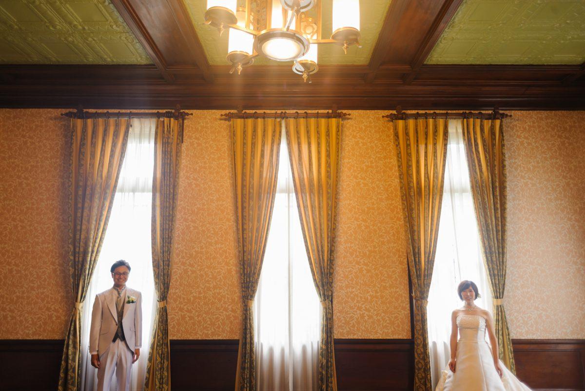 旧福岡県公会堂貴賓館|フォトウェディング・前撮りに人気のロケーションスポット|福岡・九州でフォトウェディング・前撮りならウェディングセレクト!フォトウェディング