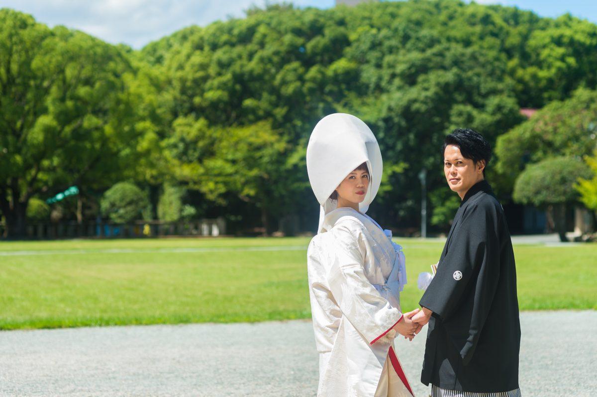 福岡縣護国神社〜観山荘にて披露宴||福岡・九州で和装の神社結婚式・和婚ならウェディングセレクト!和婚
