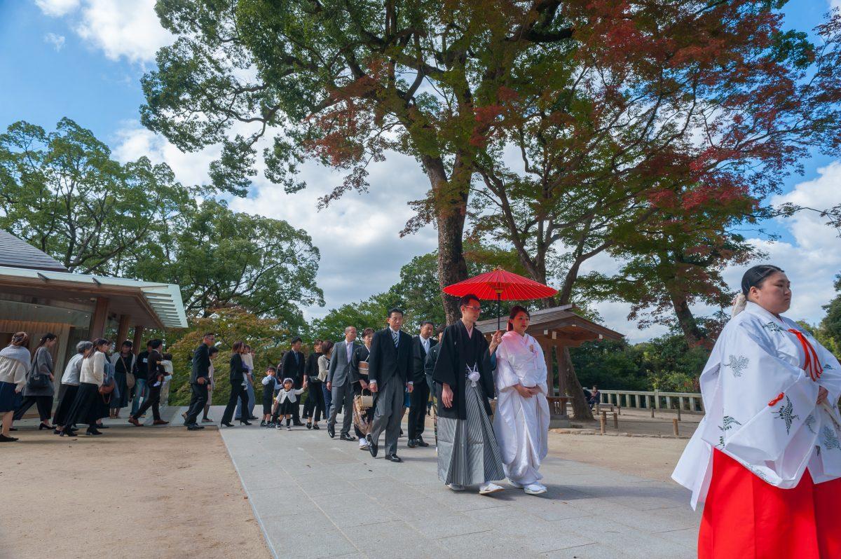 ~竈門神社~神前結婚式||福岡・九州で和装の神社結婚式・和婚ならウェディングセレクト!和婚