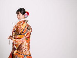 松蝶四季花扇に孔雀020