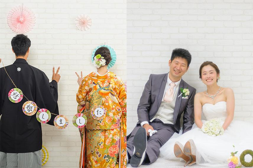 和装・洋装スタジオフォトプラン|フォトウェディング・前撮りシンプルプランやお得なキャンペーン|福岡・九州でフォトウェディング・前撮りならウェディングセレクト!フォトウェディング