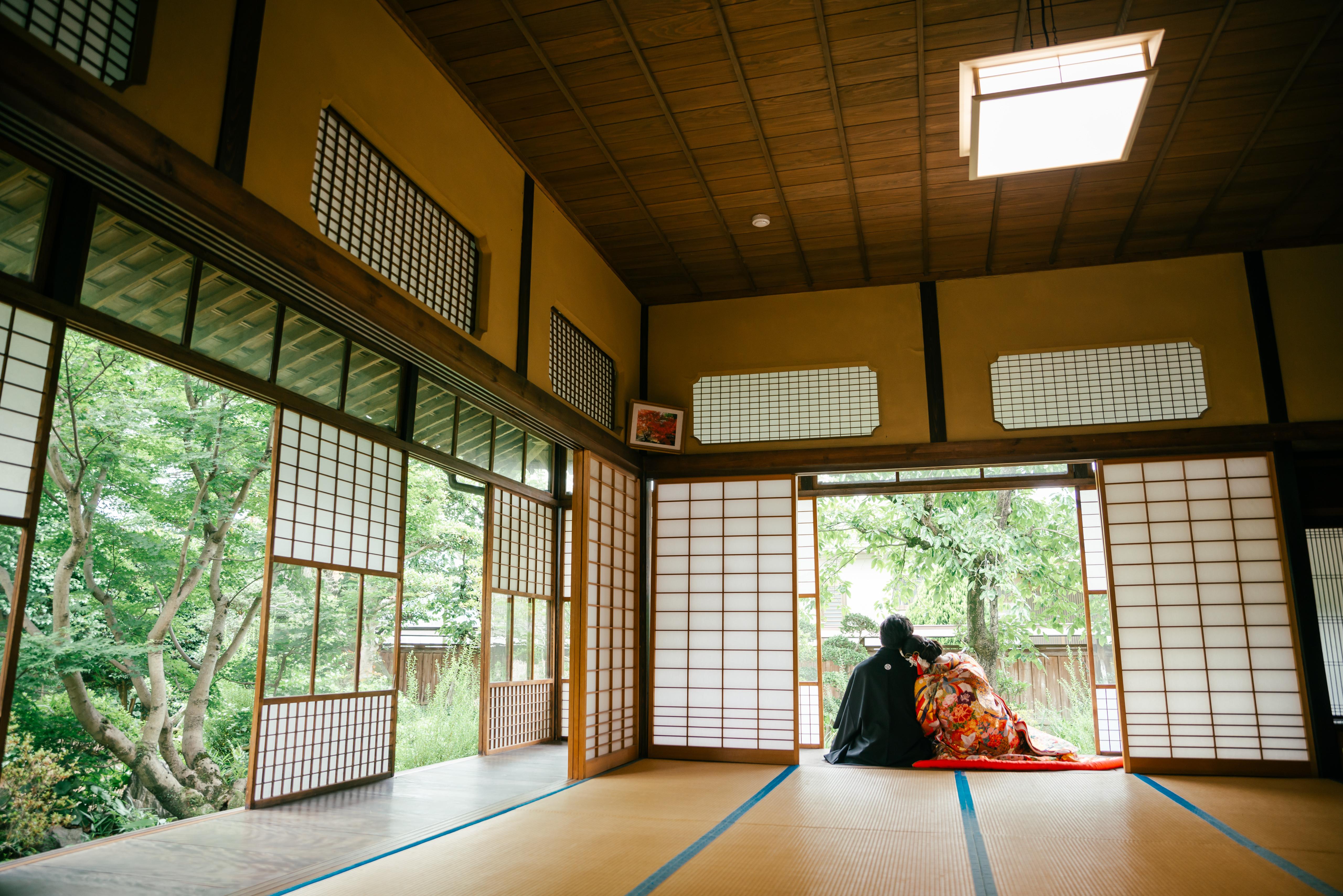 鏡田屋敷|フォトウェディング・前撮りに人気のロケーションスポット|福岡・九州でフォトウェディング・前撮りならウェディングセレクト!フォトウェディング