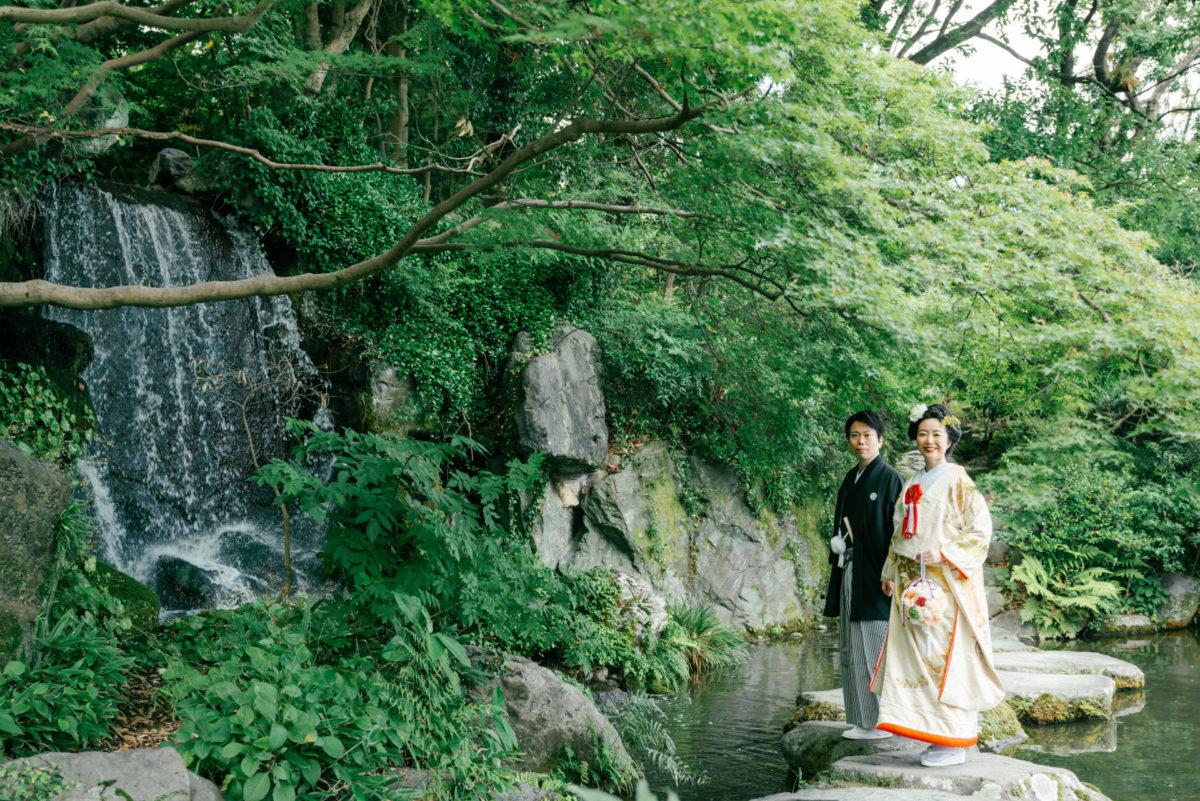 ~石橋文化センター・坂本繁二郎生家~ロケーションフォト|お客様レポート|福岡・九州で和装の神社結婚式・和婚ならウェディングセレクト!和婚
