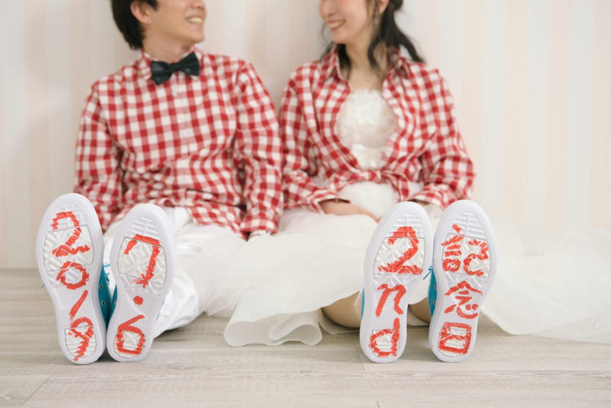 ~洋装スタジオ撮影~Second Anniversaryフォト|お客様レポート|福岡・九州で和装の神社結婚式・和婚ならウェディングセレクト!和婚