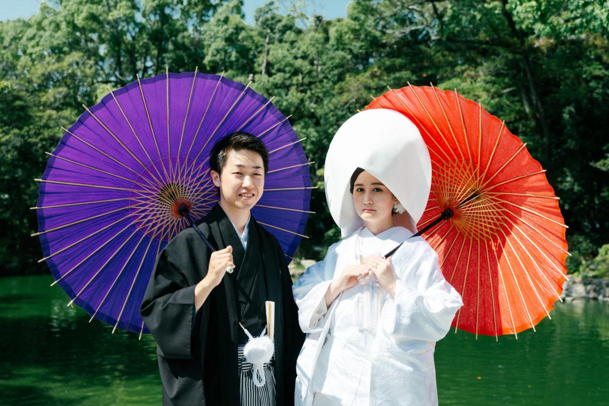 ~宗像大社~ロケーションフォト|お客様レポート|福岡・九州で和装の神社結婚式・和婚ならウェディングセレクト!和婚