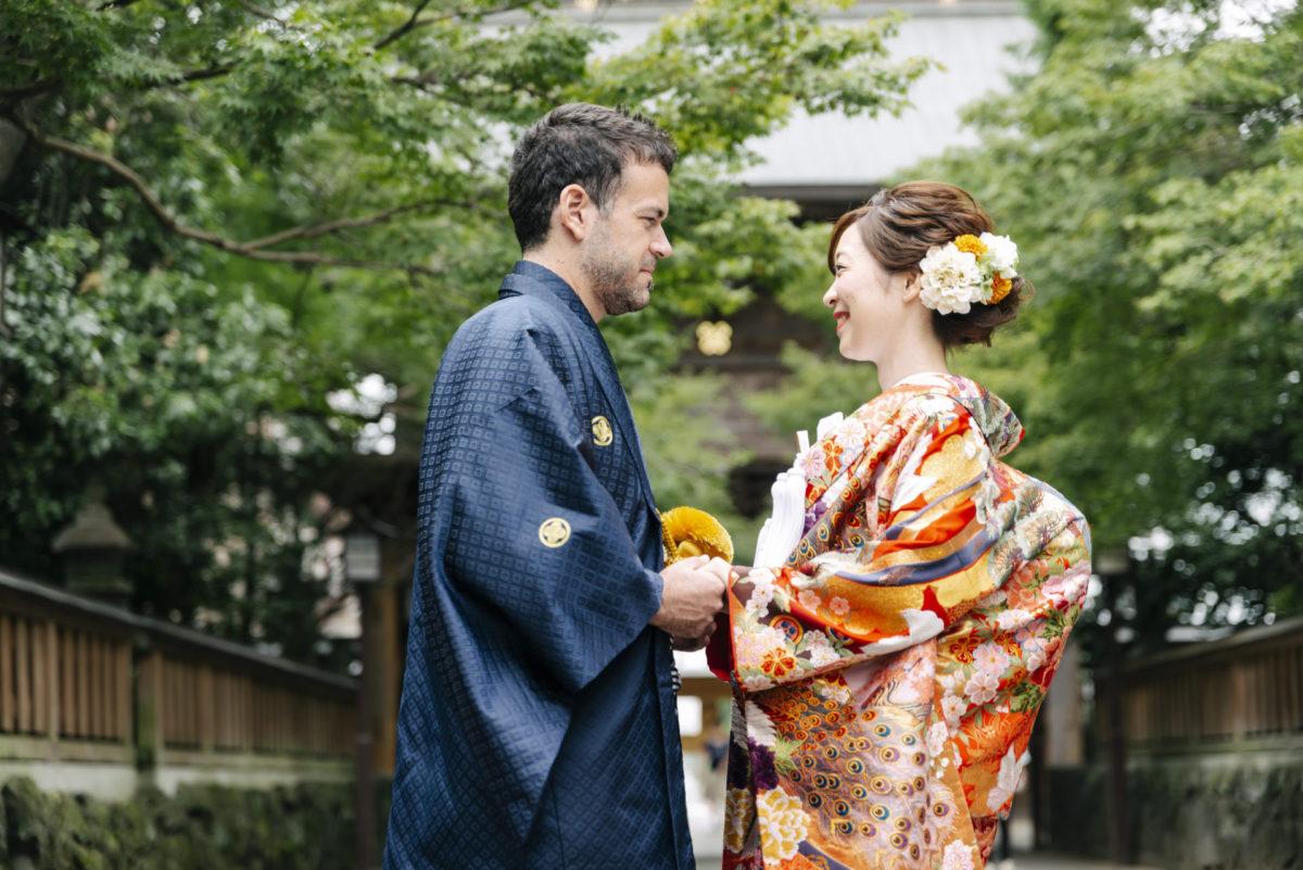~健軍神社~神前結婚式||福岡・九州でフォトウェディング・前撮りならウェディングセレクト!フォトウェディング