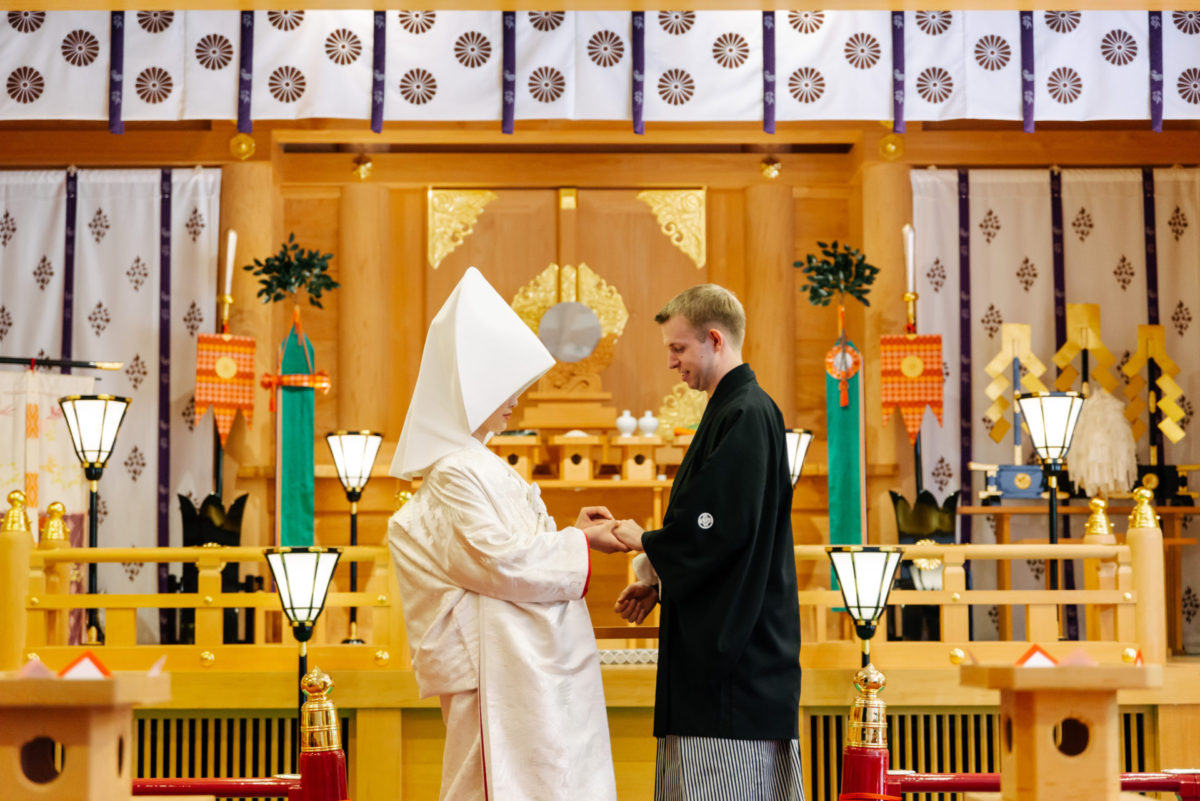~霧島神宮~神前結婚式|お客様レポート|福岡・九州で和装の神社結婚式・和婚ならウェディングセレクト!和婚
