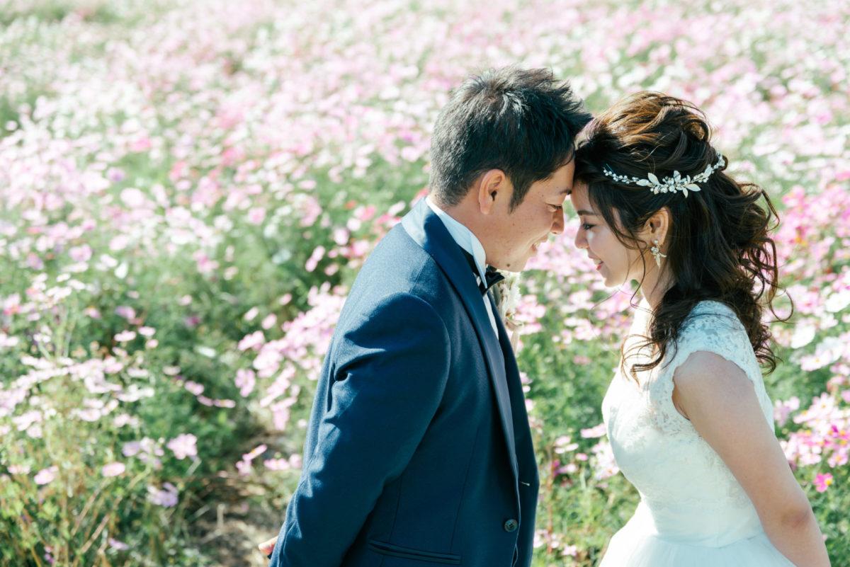 ~海の中道海浜公園・松風園~和洋ロケーションフォト|お客様レポート|福岡・九州で和装の神社結婚式・和婚ならウェディングセレクト!和婚