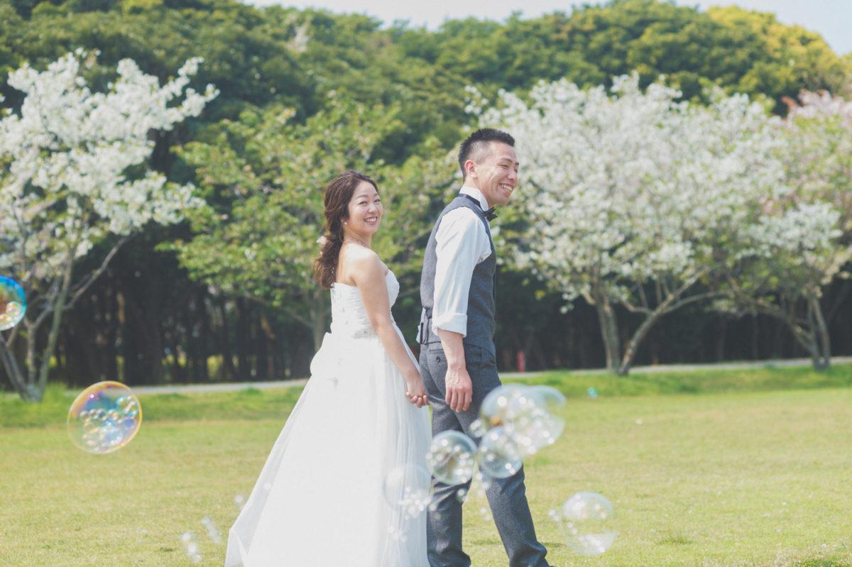 ~海の中道海浜公園~ロケーションフォト|お客様レポート|福岡・九州で和装の神社結婚式・和婚ならウェディングセレクト!和婚