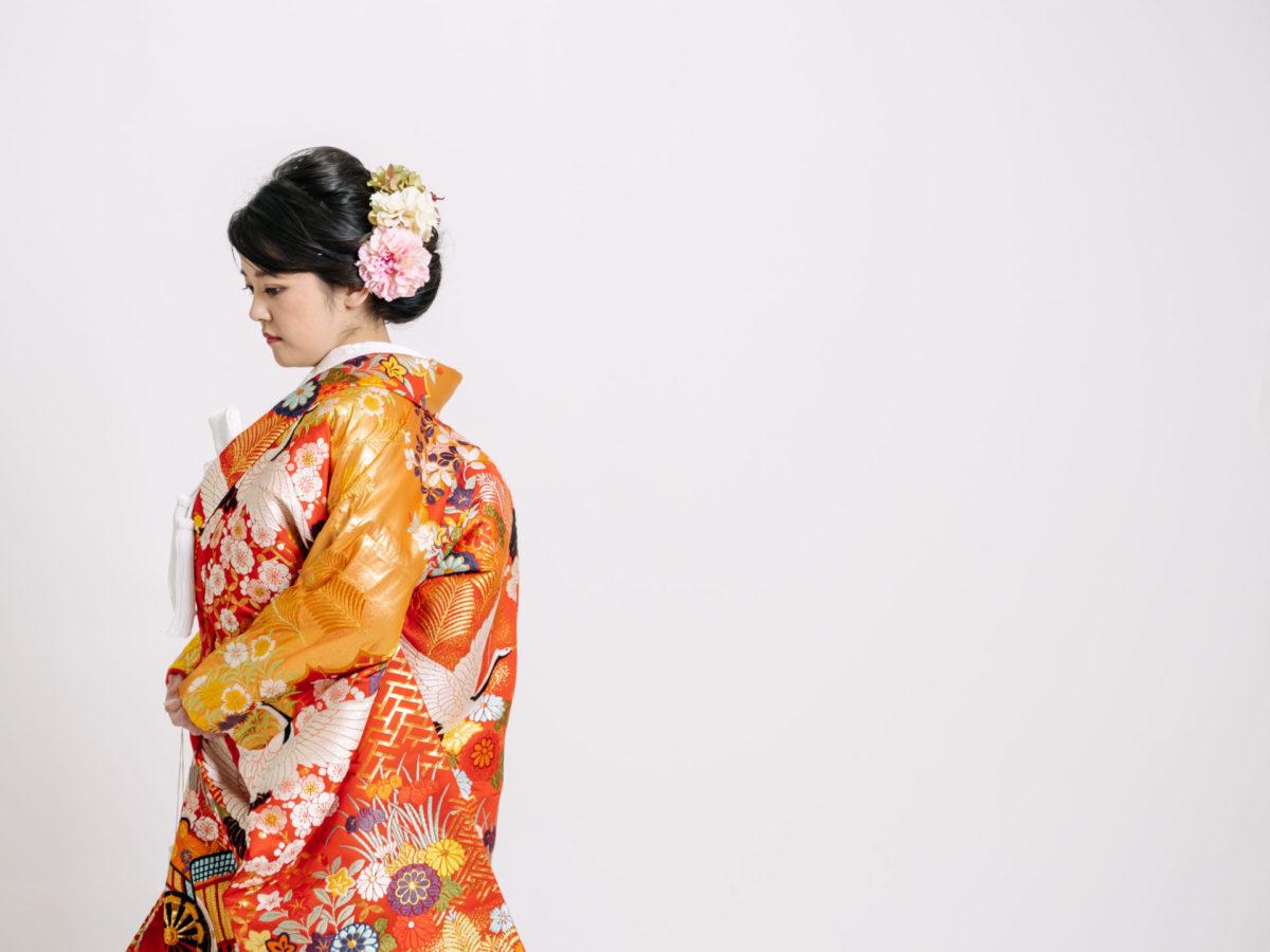 紗綾形に七宝桜鶴053