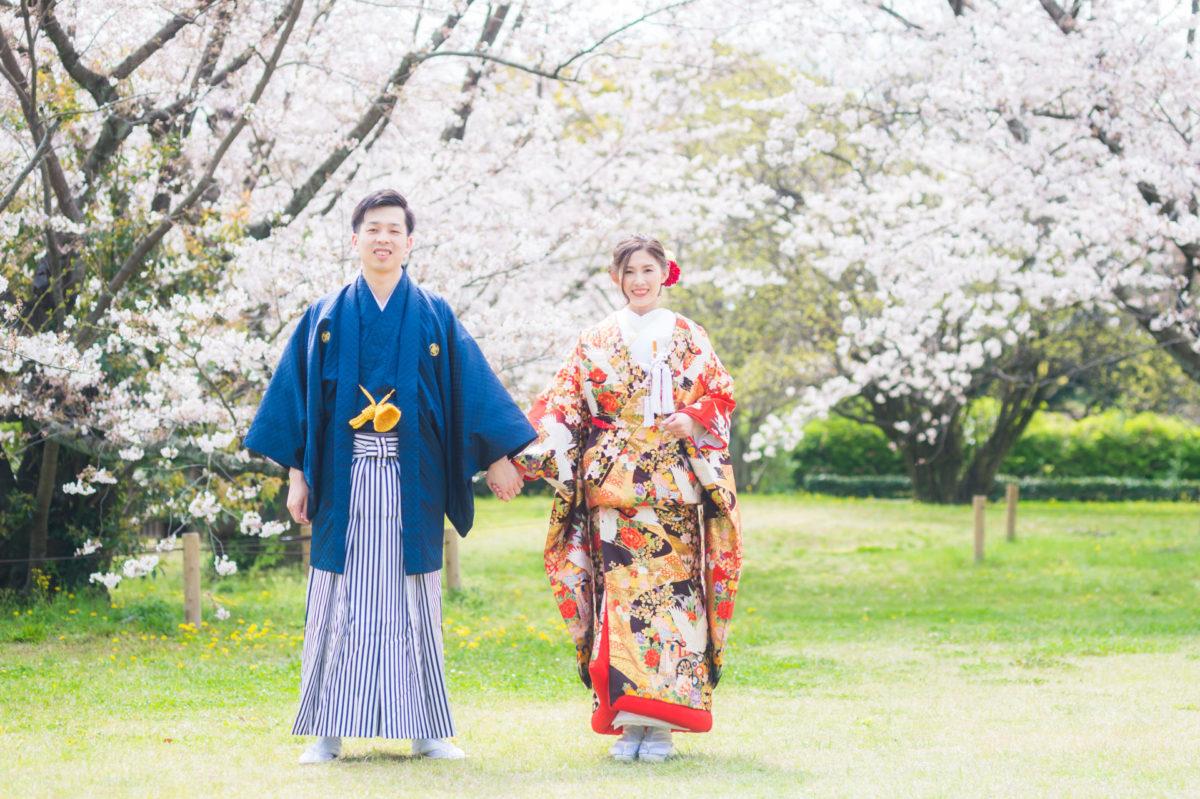 ~舞鶴公園~~ロケーションフォト|お客様レポート|福岡・九州で和装の神社結婚式・和婚ならウェディングセレクト!和婚