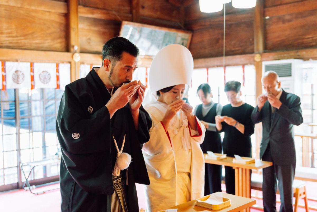 ~飯盛神社(長崎・佐世保)~神前結婚式|お客様レポート|福岡・九州で和装の神社結婚式・和婚ならウェディングセレクト!和婚