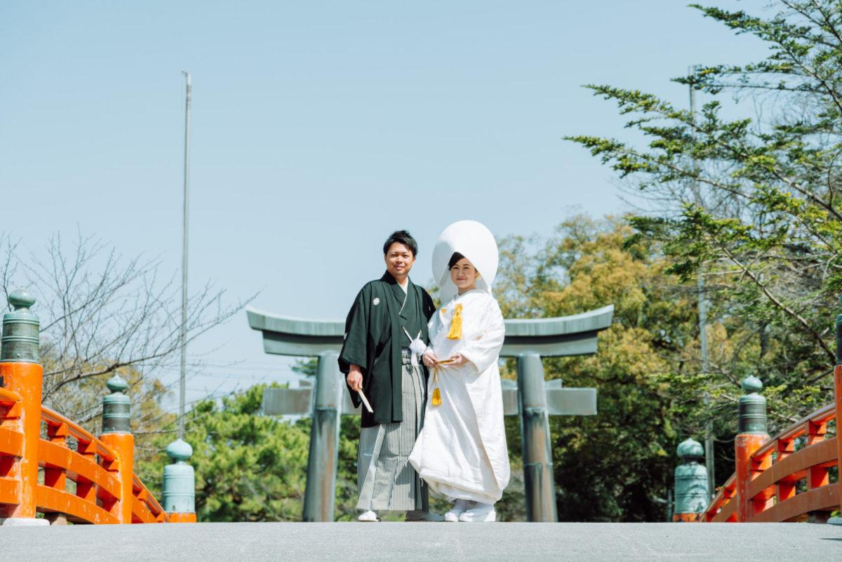 三柱神社(柳川)|フォトウェディング・前撮りに人気のロケーションスポット|福岡・九州でフォトウェディング・前撮りならウェディングセレクト!フォトウェディング