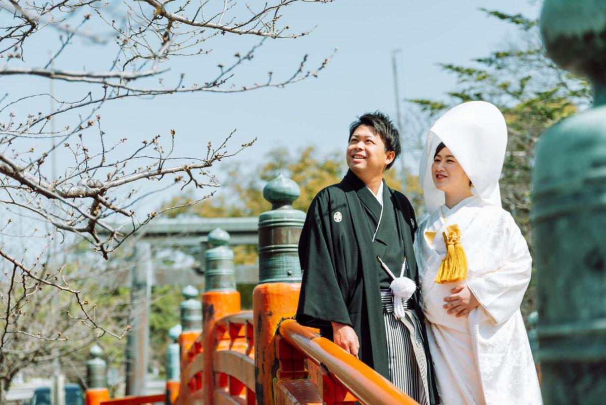 ~三柱神社(柳川)~ロケーションフォト|お客様レポート|福岡・九州でフォトウェディング・前撮りならウェディングセレクト!フォトウェディング