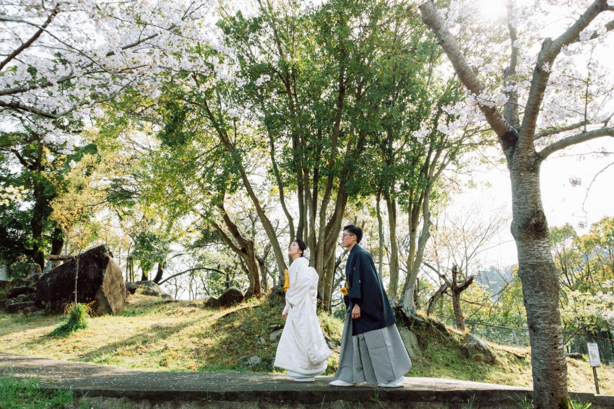 立山公園|フォトウェディング・前撮りに人気のロケーションスポット|福岡・九州でフォトウェディング・前撮りならウェディングセレクト!フォトウェディング