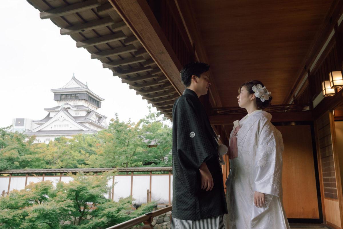小倉城庭園|フォトウェディング・前撮りに人気のロケーションスポット|福岡・九州でフォトウェディング・前撮りならウェディングセレクト!フォトウェディング