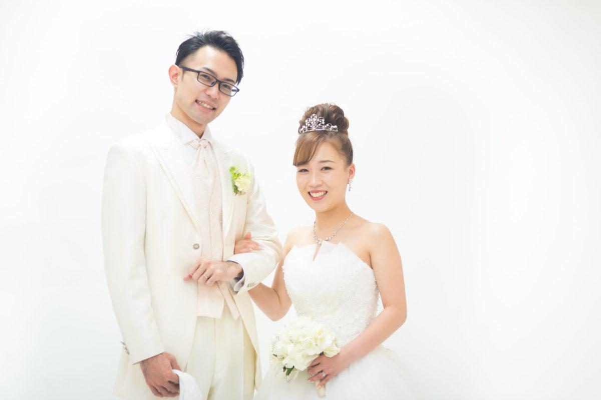 洋装スタジオ撮影|お客様レポート|福岡・九州で和装の神社結婚式・和婚ならウェディングセレクト!和婚