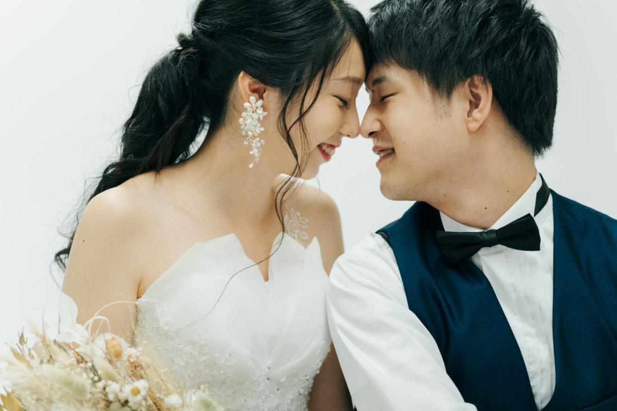 ~洋装スタジオ撮影~|お客様レポート|福岡・九州で和装の神社結婚式・和婚ならウェディングセレクト!和婚