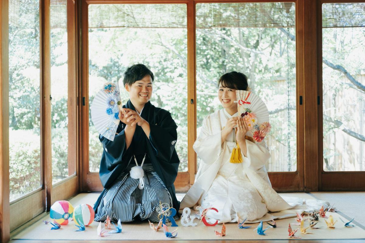 大濠日本庭園&糸島|お客様レポート|福岡・九州で和装の神社結婚式・和婚ならウェディングセレクト!和婚