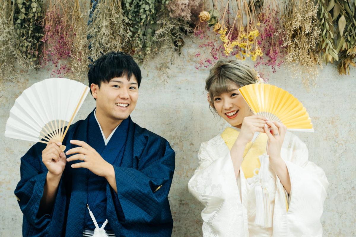 スタジオ撮影|お客様レポート|福岡・九州で和装の神社結婚式・和婚ならウェディングセレクト!和婚