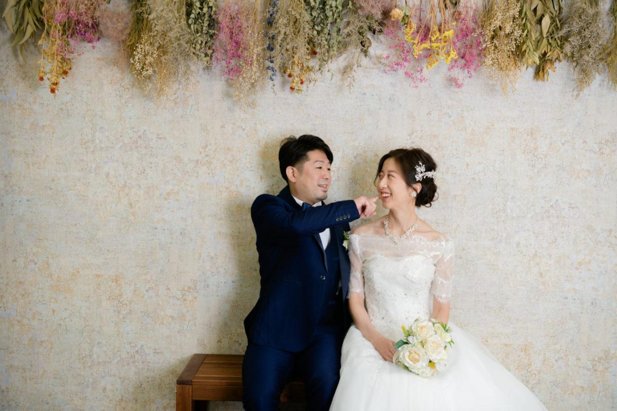 洋装スタジオフォト|お客様レポート|福岡・九州で和装の神社結婚式・和婚ならウェディングセレクト!和婚