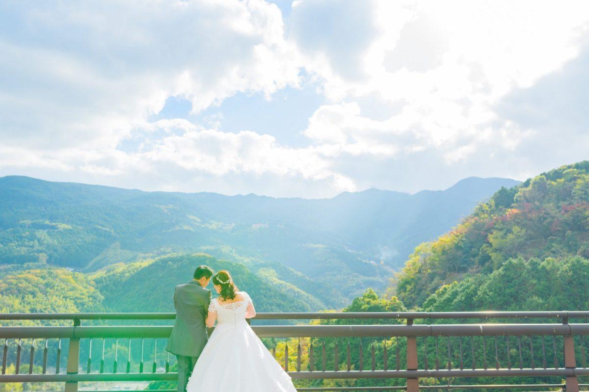 魚楽園~勝盛公園~鳴淵ダム|お客様レポート|福岡・九州で和装の神社結婚式・和婚ならウェディングセレクト!和婚