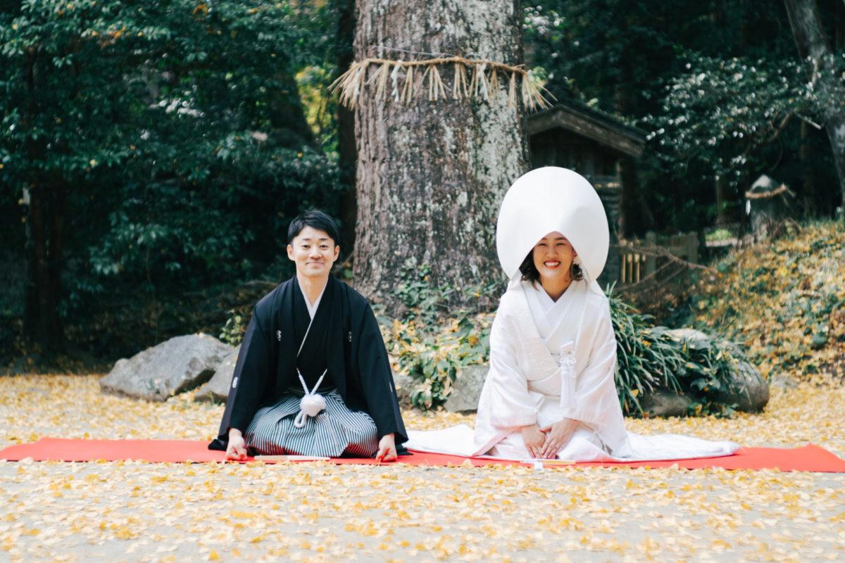 櫻井神社 フォトウェディング・前撮りに人気のロケーションスポット 福岡・九州でフォトウェディング・前撮りならウェディングセレクト!フォトウェディング