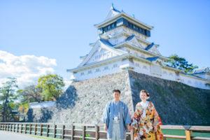 小倉城|フォトウェディング・前撮りに人気のロケーションスポット|福岡・九州でフォトウェディング・前撮りならウェディングセレクト!フォトウェディング