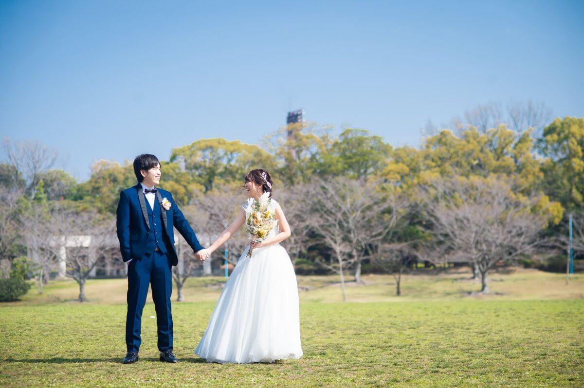 春日公園|フォトウェディング・前撮りに人気のロケーションスポット|福岡・九州でフォトウェディング・前撮りならウェディングセレクト!フォトウェディング